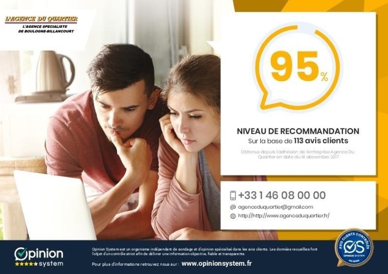 Sale apartment Boulogne billancourt 640000€ - Picture 9