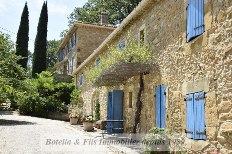 Immobile residenziali di prestigio casa Uzes 1750000€ - Fotografia 1