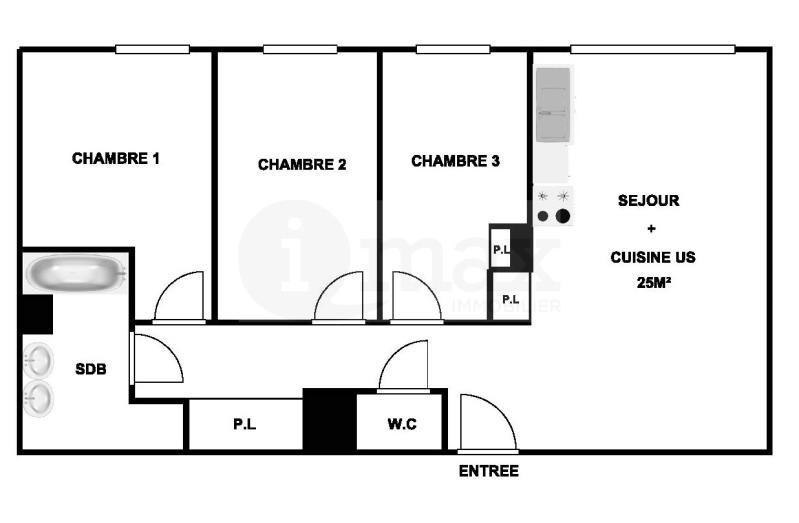 Sale apartment Levallois perret 549000€ - Picture 6