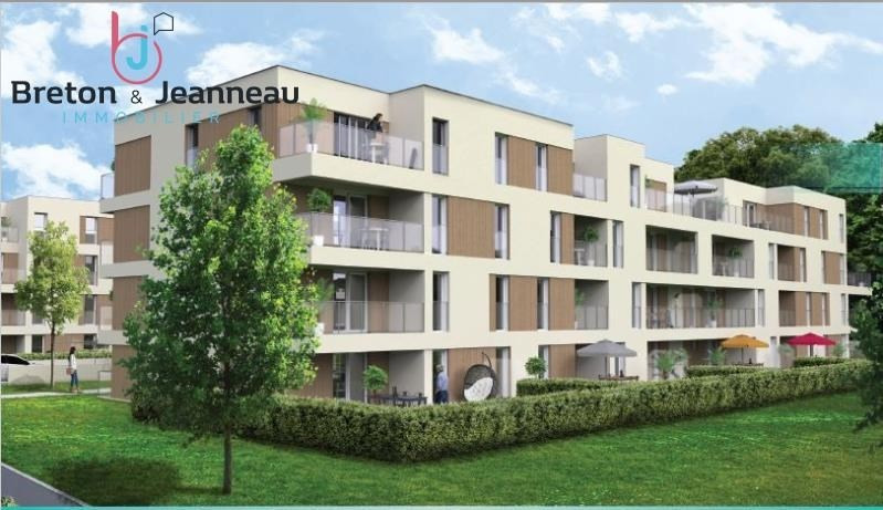 Location appartement St berthevin 478€ CC - Photo 1