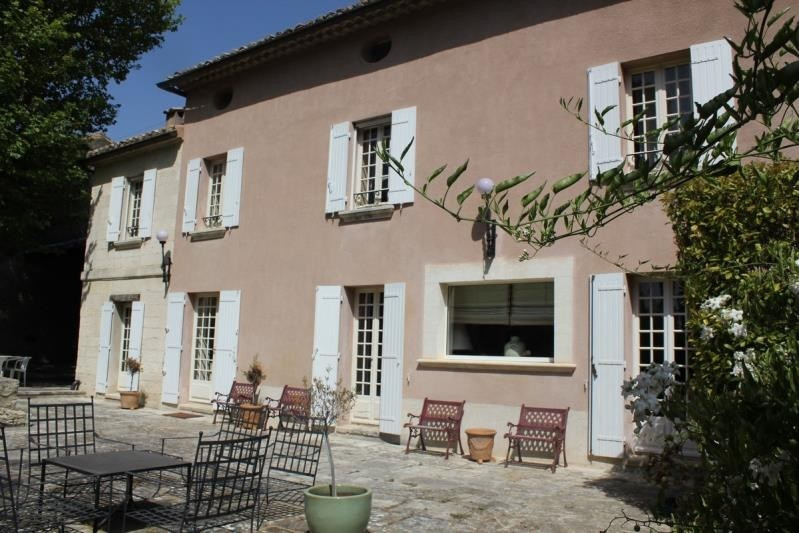 Vente de prestige maison / villa Aramon 740 000€ - Photo 2