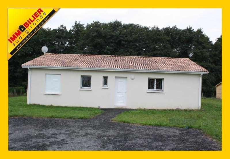 Sale house / villa Langon 186400€ - Picture 1