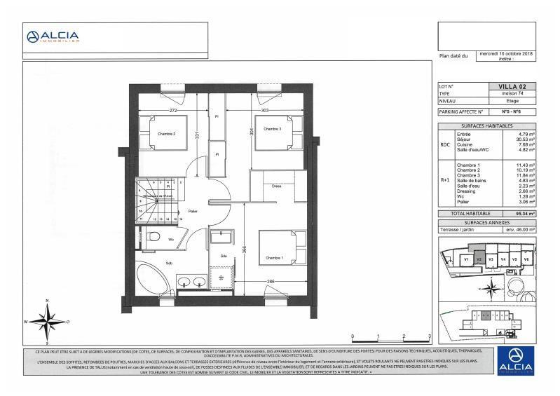 Vente maison / villa Merignac 518000€ - Photo 3