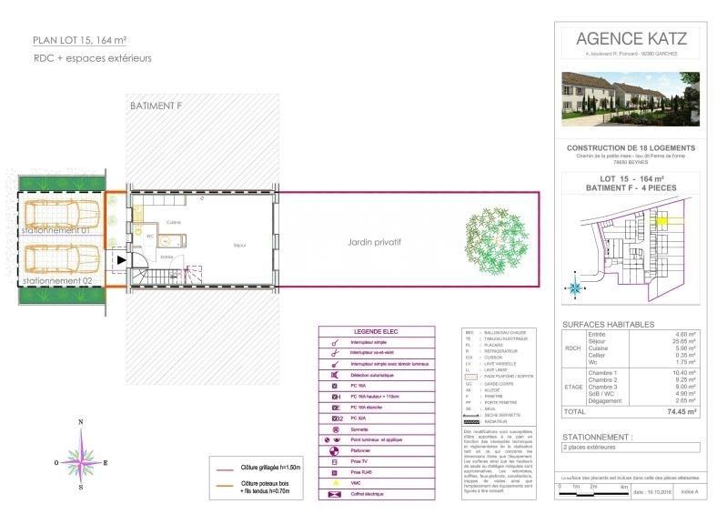 Vente maison / villa Beynes 243000€ - Photo 5