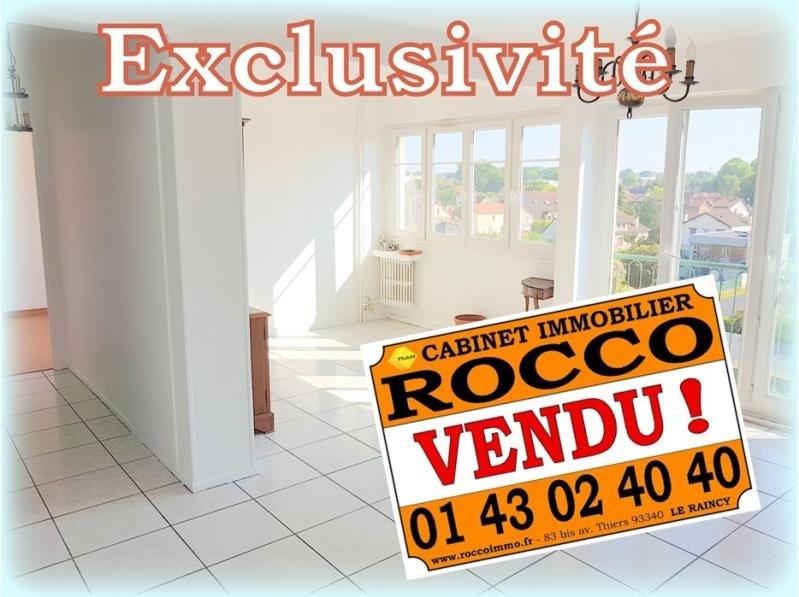 Sale apartment Les pavillons sous bois 162500€ - Picture 1