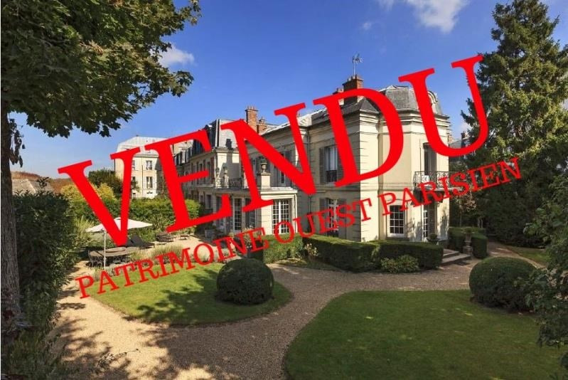 Deluxe sale house / villa St germain en laye 3000000€ - Picture 1