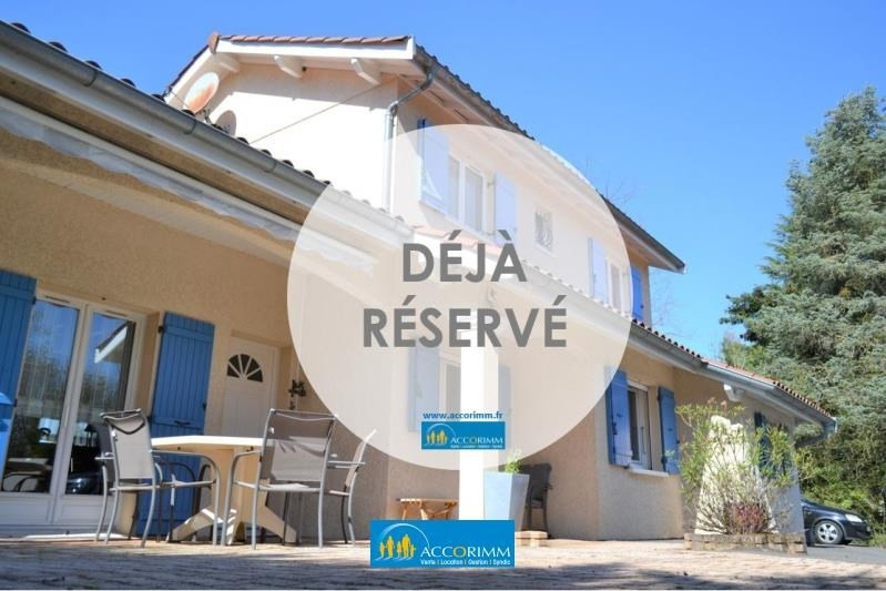Sale house / villa St just chaleyssin 494000€ - Picture 1