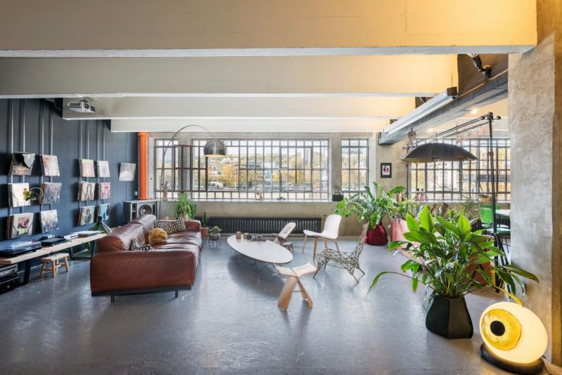 Loft - 345m² - vue Saône
