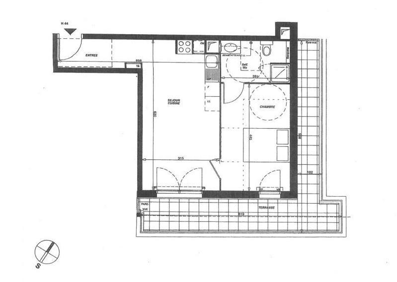 Location appartement Saint ouen l'aumone 746€ CC - Photo 5