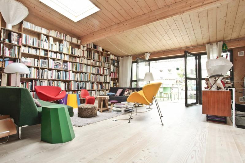 Deluxe sale loft/workshop/open plan Montreuil 990000€ - Picture 2