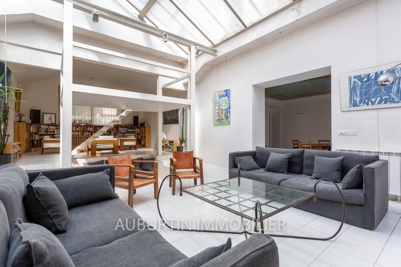 Deluxe sale loft/workshop/open plan Paris 18ème 1 450 000€ - Picture 1