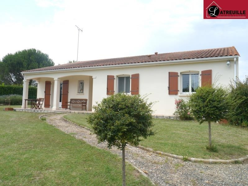 Vente maison / villa Gemozac 220500€ - Photo 1
