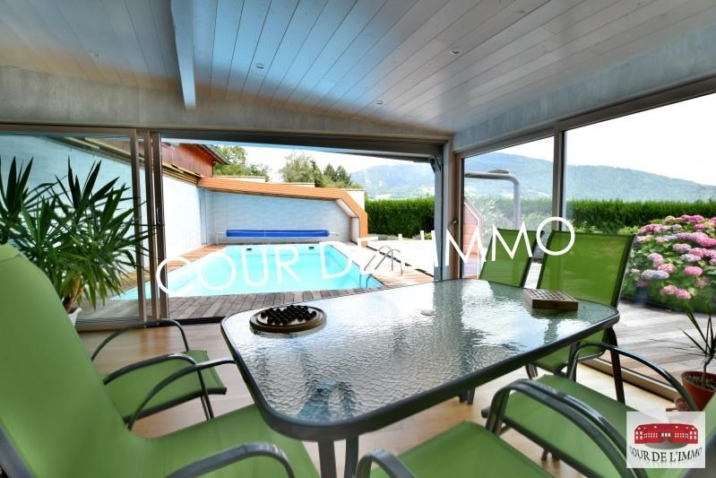 Vente de prestige maison / villa Viuz en sallaz 595000€ - Photo 2