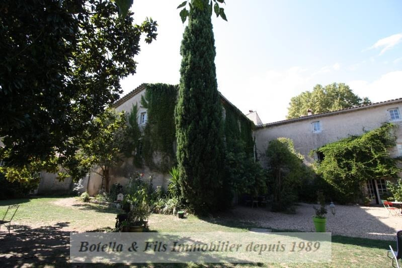 Verkoop van prestige  huis Uzes 930000€ - Foto 1