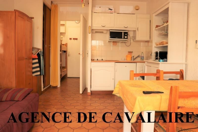 Sale apartment Cavalaire sur mer 118 000€ - Picture 1