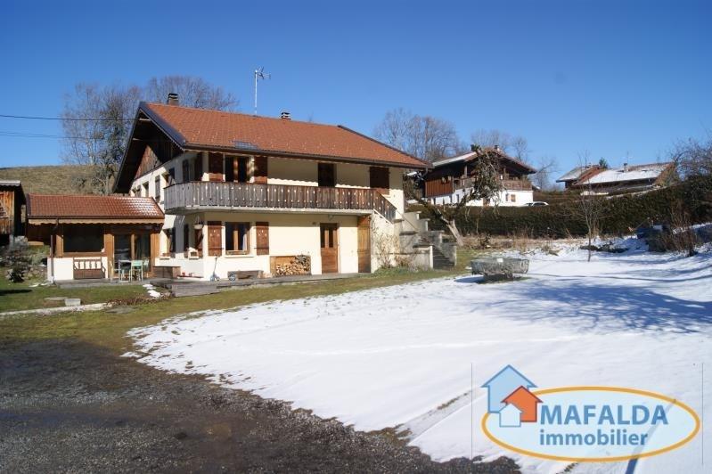 Vente maison / villa Mont saxonnex 529000€ - Photo 1