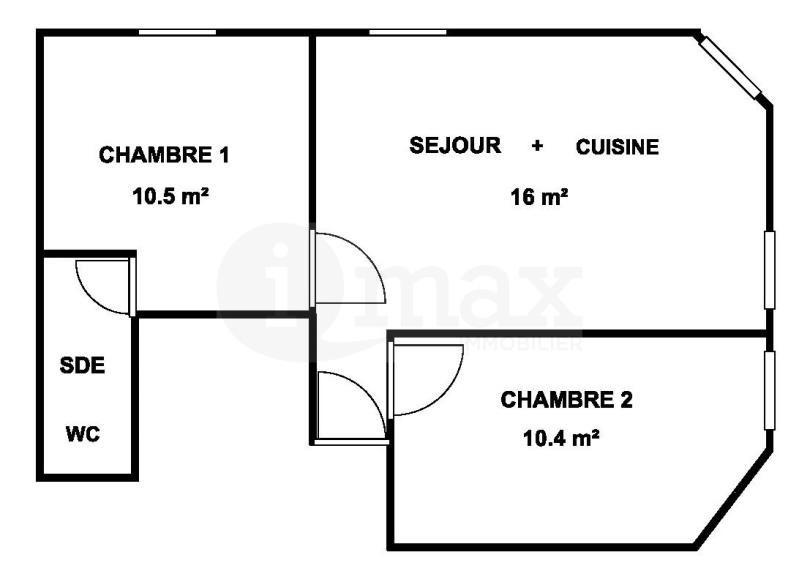 Sale apartment Levallois perret 350000€ - Picture 3
