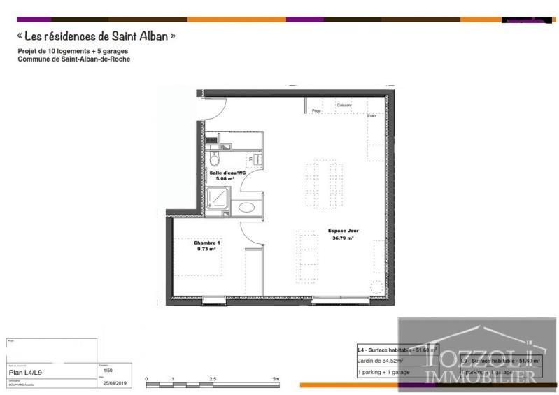 Vente appartement St alban de roche 159800€ - Photo 2