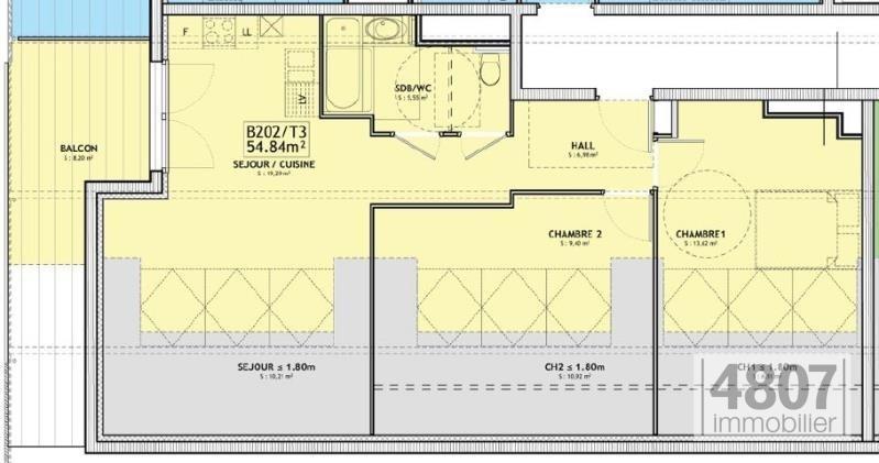 Vente appartement Servoz 330000€ - Photo 3