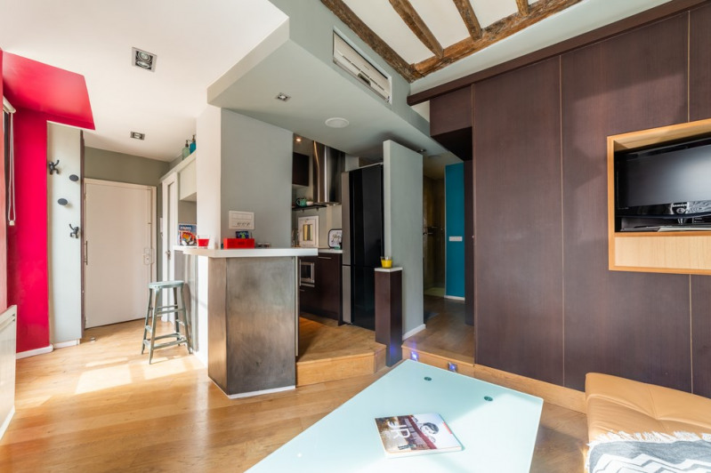 Sale apartment Paris 4ème 480 000€ - Picture 2