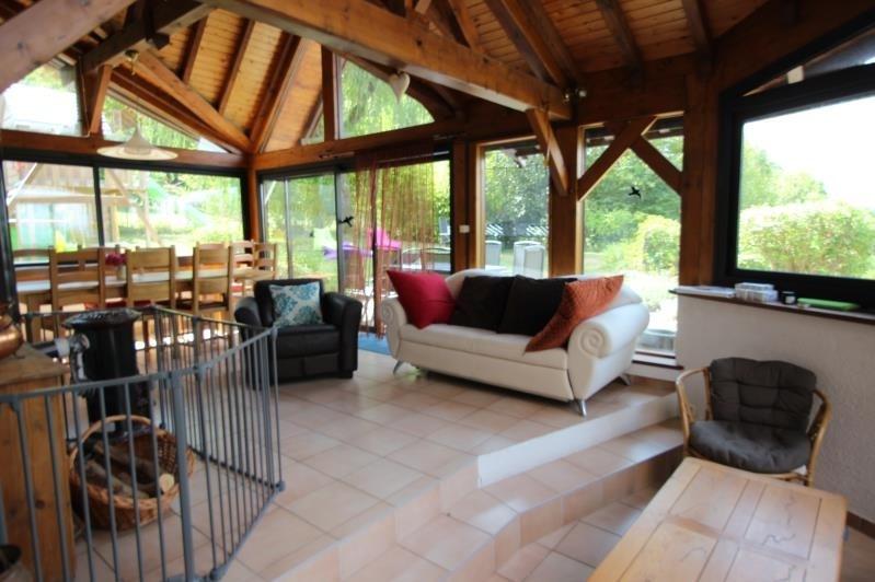 Deluxe sale house / villa Saint sixt 630000€ - Picture 2
