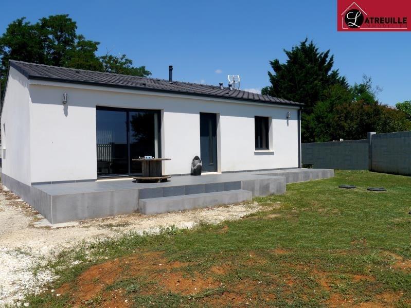 Vente maison / villa Gemozac 154000€ - Photo 1