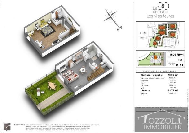 Sale house / villa Villefontaine 135000€ - Picture 3