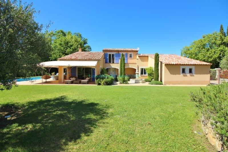 Vente de prestige maison / villa Saint cezaire sur siagne 750000€ - Photo 1