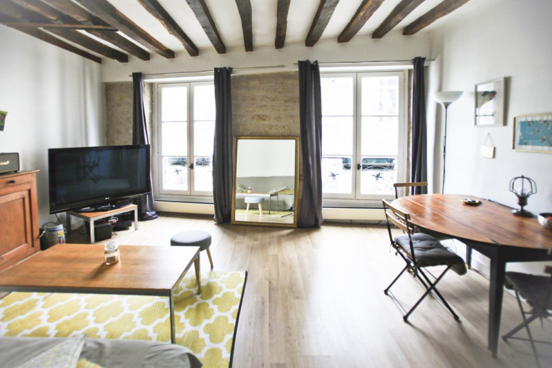 Sale apartment Paris 3ème 495 000€ - Picture 1
