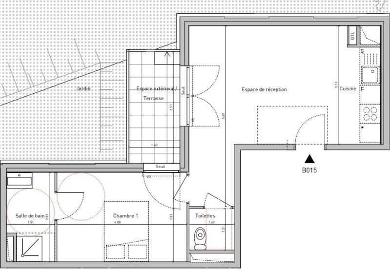 Vente appartement Noisy le sec 224800€ - Photo 2