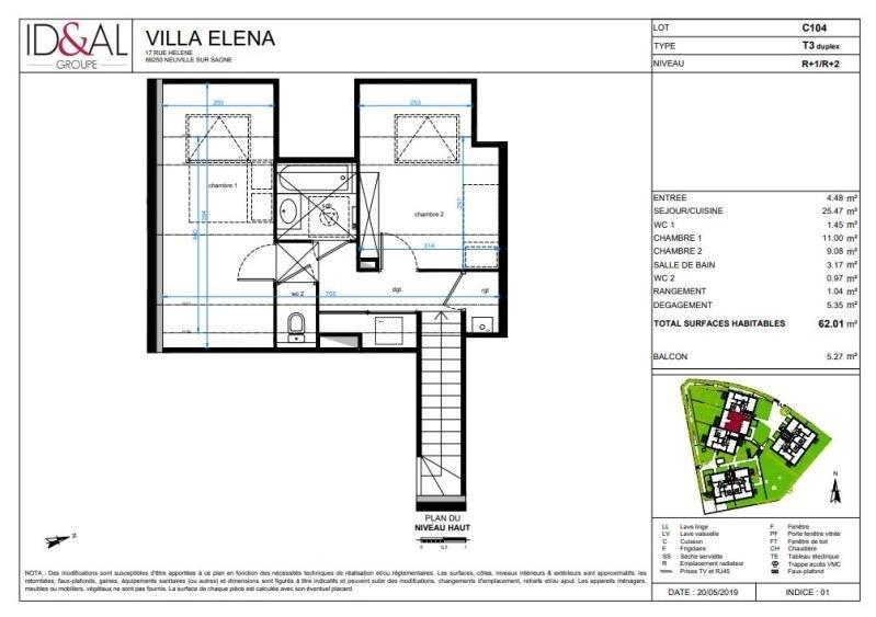Investimento apartamento Neuville sur saone 250000€ - Fotografia 4