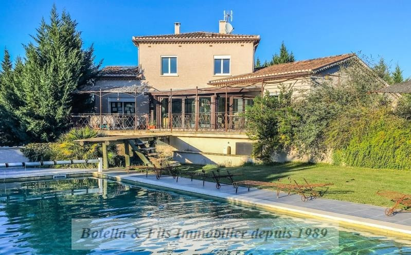 Verkoop van prestige  huis Barjac 593000€ - Foto 3