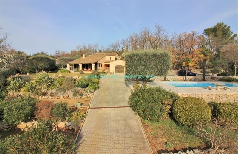 Vente de prestige maison / villa Saint cezaire sur siagne 730000€ - Photo 1
