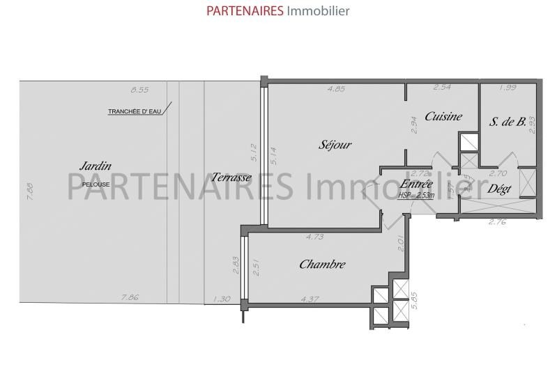 Sale apartment Le chesnay 320000€ - Picture 5