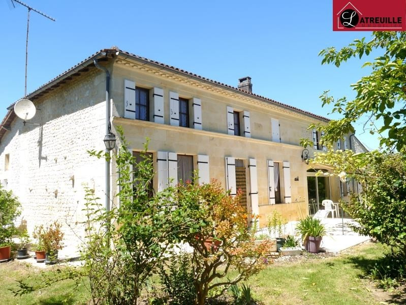 Vente maison / villa Gemozac 408 000€ - Photo 1