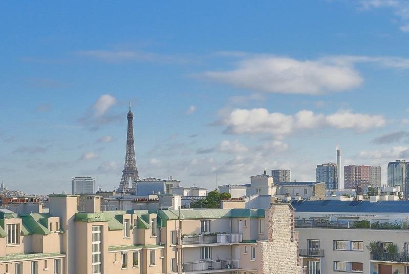 Rental apartment Paris 16ème 2750€ CC - Picture 2