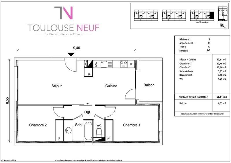 Vente appartement Ramonville saint agne 246900€ - Photo 6