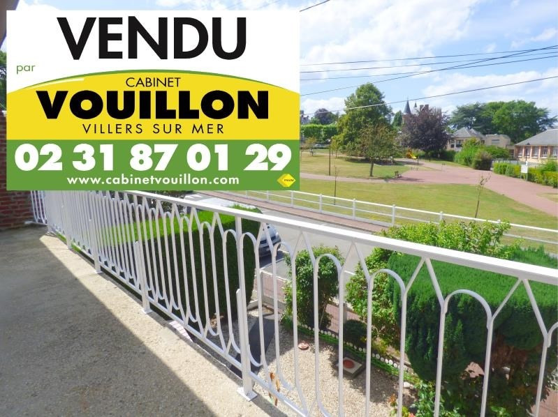 Verkoop  appartement Villers sur mer 127000€ - Foto 1