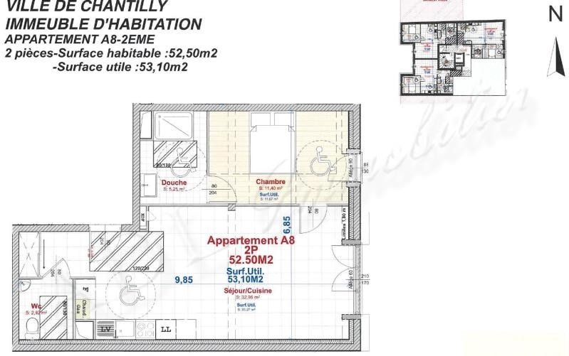 Sale apartment Chantilly 267 000€ - Picture 2