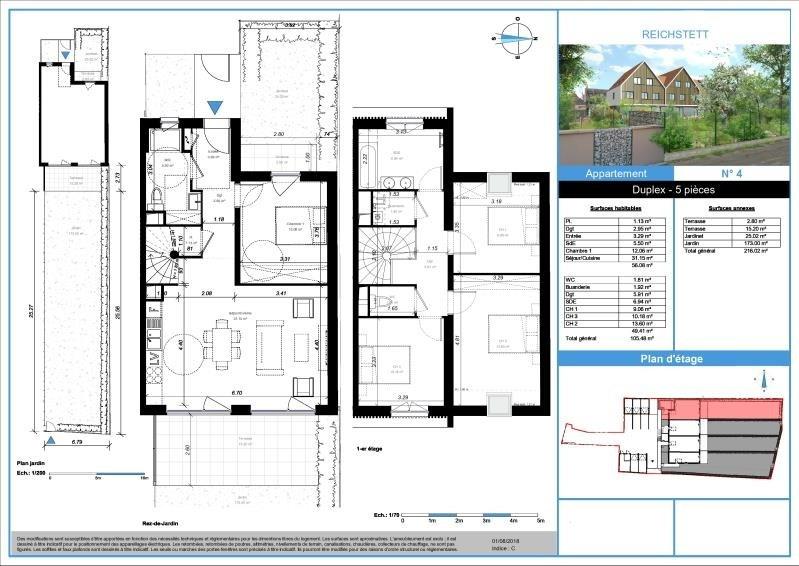 Sale apartment Reichstett 371000€ - Picture 2