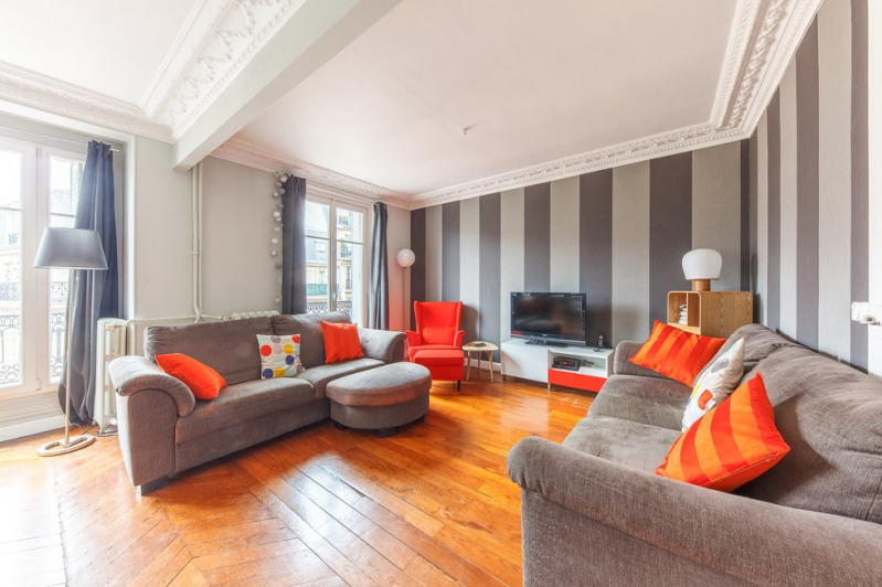 Deluxe sale apartment Paris 20ème 995 000€ - Picture 2