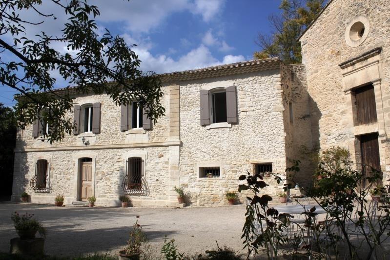Vente de prestige maison / villa Aramon 670000€ - Photo 1