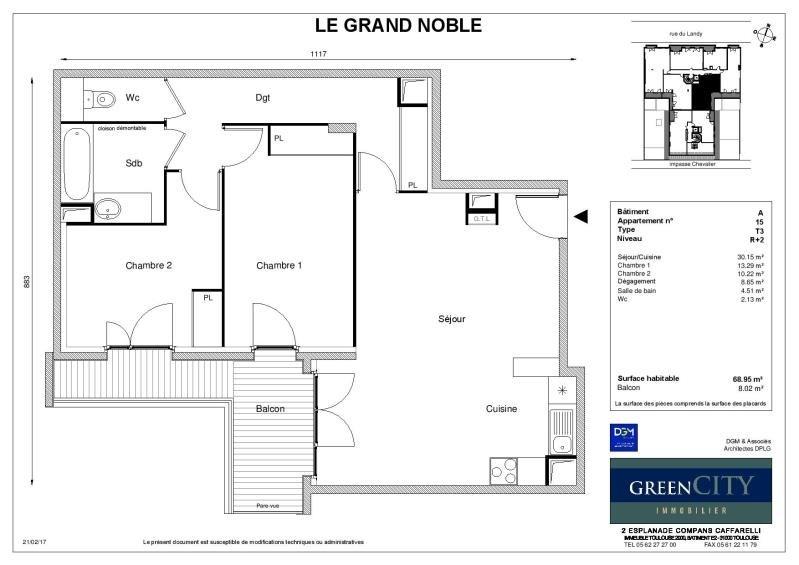 Location appartement St ouen 1235€ CC - Photo 2