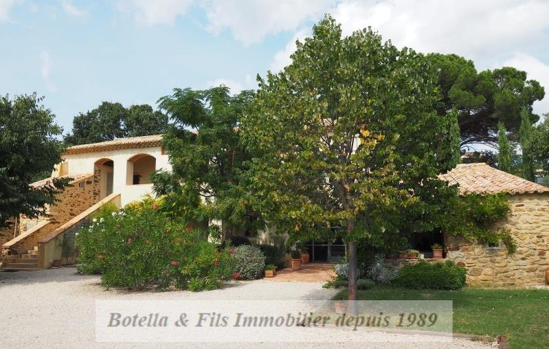 Verkoop van prestige  huis Goudargues 556000€ - Foto 2