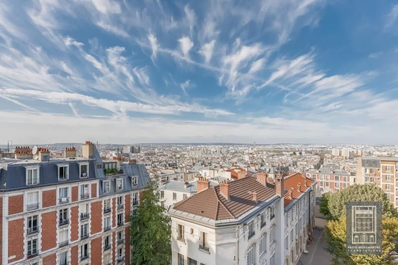 Vente de prestige appartement Paris 18ème 1 490 000€ - Photo 2