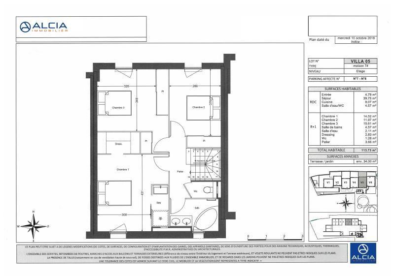Sale house / villa Merignac 543000€ - Picture 3