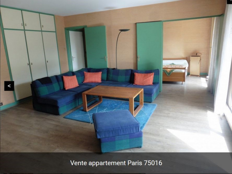 Sale apartment Paris 16ème 260 000€ - Picture 4