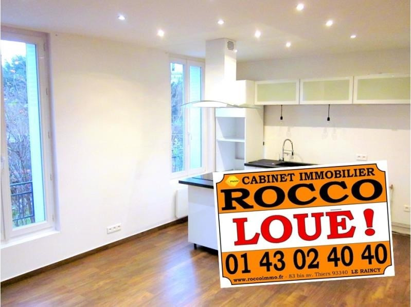 Location appartement Le raincy 957€ CC - Photo 1