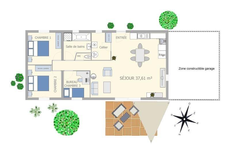 Vente maison / villa Linars 169600€ - Photo 3