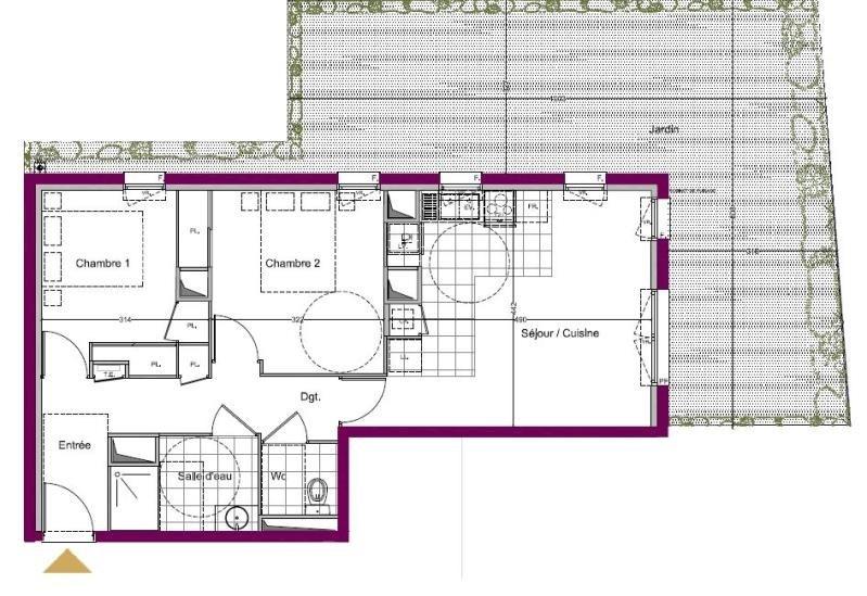 Vente appartement Le teich 245000€ - Photo 1